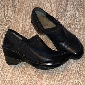 Jambu sport shoes black wedge nursing nurse 8